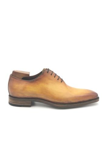 Giorostan brown Men Formal Oxford Shoes 4D989SHD51D1C3GS_1