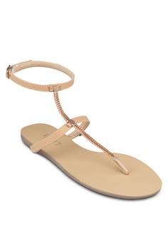 Mavis Metallic Detail Sandals