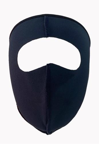 BONIFY blue BONIFY Facial Scuba Mask in Dusty Blue A4E25ESA7ADC02GS_1