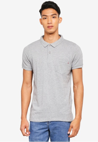Cotton On grey Icon Polo Shirt 90AD9AAD8621F5GS_1