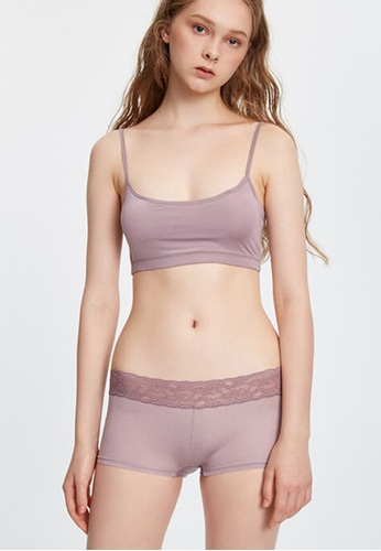 Celessa Soft Clothing Cooling - Mid Rise Cool Lace Waist Shortie Panty CE2B6US090ADACGS_1