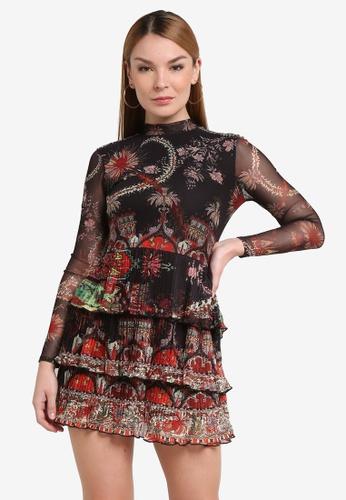 Desigual black Berlin Dress B27A2AAEB8768BGS_1