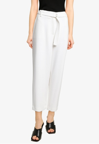 French Connection white Indi Whisper Ruth Culottes C7011AAF668EF6GS_1