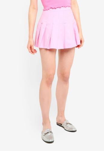 Factorie pink Pleated Skirt DAF3DAA34CD76EGS_1