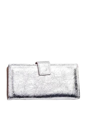 Twenty Eight Shoes silver VANSA Burst Leather Bi-Fold Wallet VBW-Wt60271 F15C0AC2356C63GS_1
