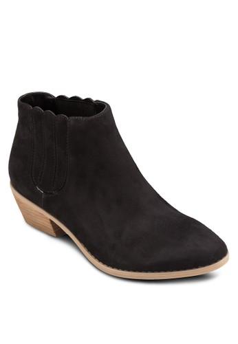 Ciardi 簡約木製粗跟踝靴esprit分店, 女鞋, 鞋