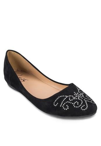 Diamante Ballerinas, 女鞋, 芭zalora 男鞋 評價蕾平底鞋