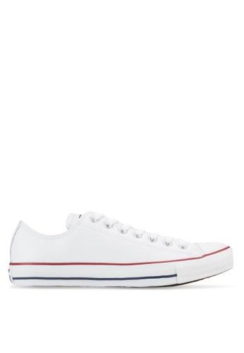 6ea9bb5da9d2b8 Converse white Chuck Taylor All Star Leather Core Ox Sneakers  CO302SH85YJAMY 1