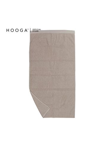 HOOGA grey Hooga Bath Towel Cornise (Bundle of 2) E1C0FHLC9D098FGS_1