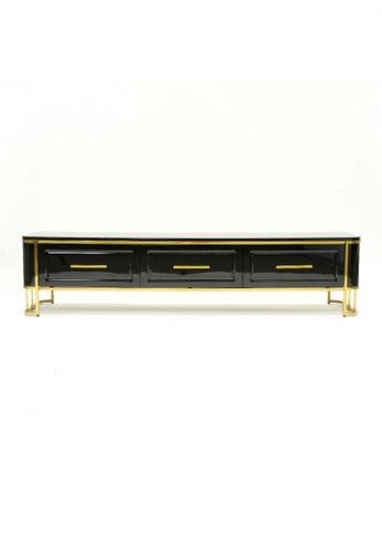 Choice Furniture gold Choice Furniture - Carlino TV Sideboard C2328HL2E7750DGS_1