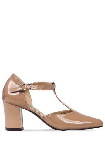 CLAYMORE brown Claymore sepatu high heels ED 012 Moca 8122BSHC1C2294GS_1