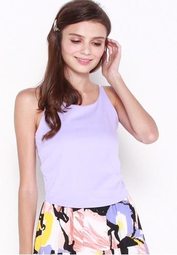 JOVET 紫色 Joyce Basic Camisole F7A1AAA786555DGS_1