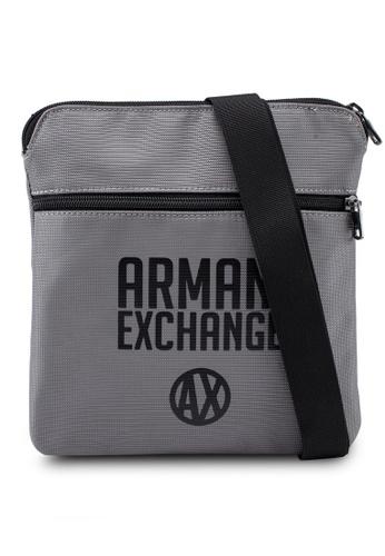 Buy Armani Exchange Urban Logo Sling Bag Online on ZALORA Singapore 28265b227b2bd