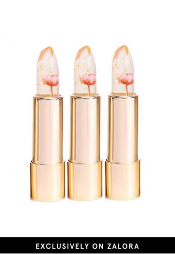 Kailijumei pink Kailijumei Lipstick- Barbie Doll Lipstick Trio Set KA452BE39QMQMY_1
