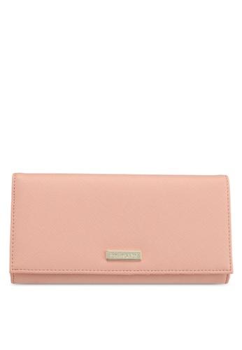 Perllini&Mel pink Faux Leather Long Wallet 254FDACA2E68A7GS_1