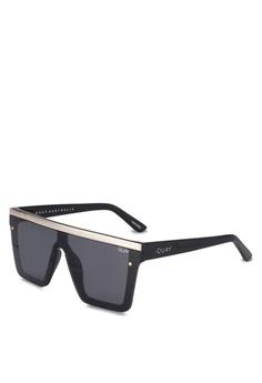 8e46805ec689 Quay Australia black Hindsight Sunglasses DE634GL9FF2EBFGS 1