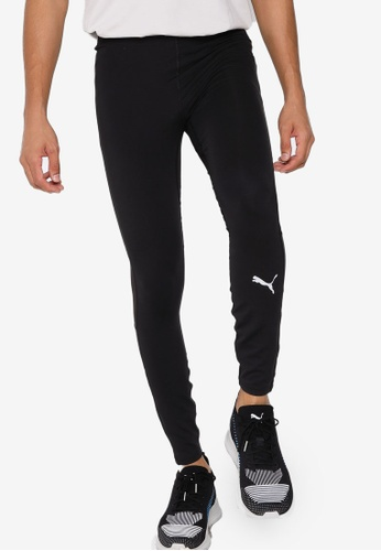 Puma black Favourite Long Men's Running Tights 33DA7AAB87262FGS_1