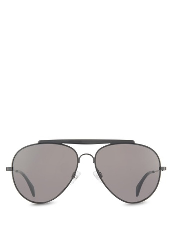 Tommy Hilfiger black Asian Fit Gigi Hadid Capsule Collection Sunglasses TO861GL04VEDMY_1