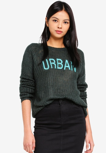 ONLY green Kerry Knitted Pullover 5B38FAA355B0C7GS_1
