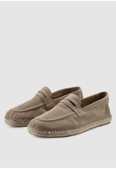 b69d1598f5ac Selected Homme SLHAJO Penny Suede Espadrilles S  149.00. Available in  several sizes