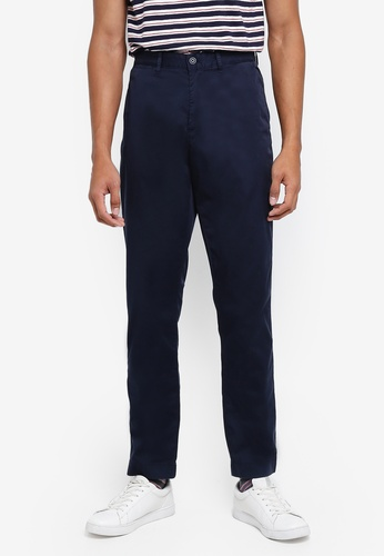 J.Crew navy Garment Dyed Stretch Pants 61744AA308942CGS_1