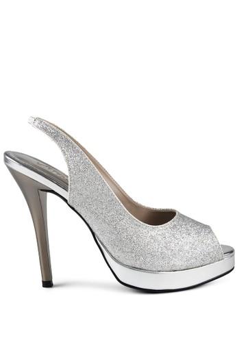 Yovela Heels Silver