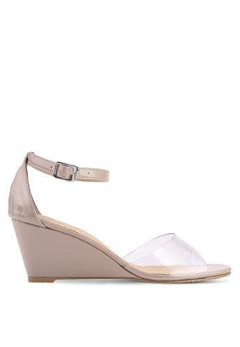Buy Heatwave Perspex Wedge Sandals