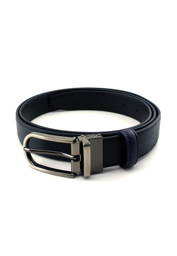 Rad Russel blue Rad Russel Reversible Belt (Blue/Black) RA654AC61LCOSG_1