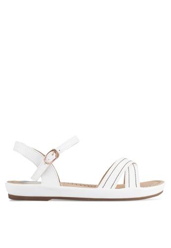 Alfio Raldo white Strappy Sandals AL803SH0R9PMMY_1