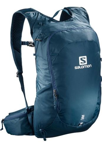 Salomon Trailblazer 20 Backpack Poseidon and Ebony
