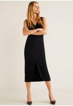 7318efe604123b 30% OFF Mango V-Neckline Dress RM 240.90 NOW RM 169.00 Sizes XS S M L XL