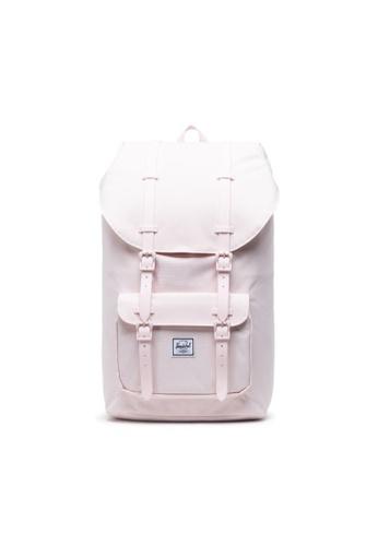 Herschel pink Herschel Unisex Little America Backpack Rosewater Pastel- 25L 8F9B7AC6F81AADGS_1