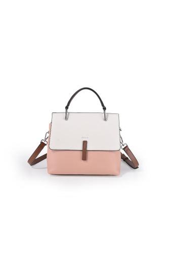 Esfolar pink Esfolar Small  Satchel Bag (EA190018) D2433ACEB87332GS_1