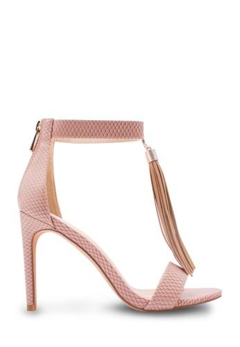 Karen&Chloe Sepatu Wanita High Heel Pink