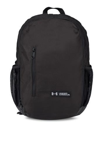 7e01a18437 Under Armour black UA Roland Backpack 208A7AC88608F5GS 1