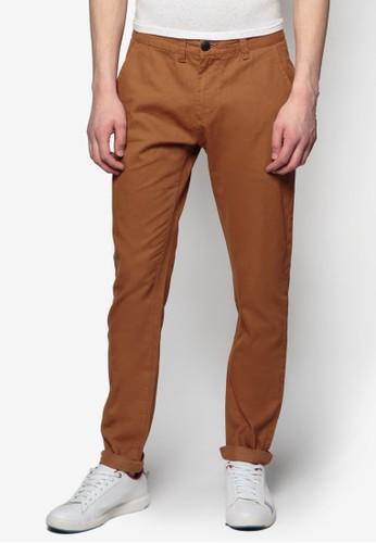 基本款斜布長褲,esprit 台北 服飾, 直筒褲