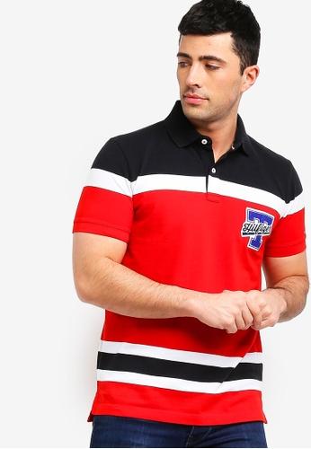 3c7230d9c1258f Buy Tommy Hilfiger ENG COLORBLOCK HOCKEY REG POLO Online on ZALORA Singapore