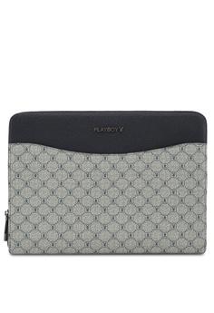 Playboy blue Faux Leather Clutch Bag 037B1AC9A73814GS 1 d64c182826c2b
