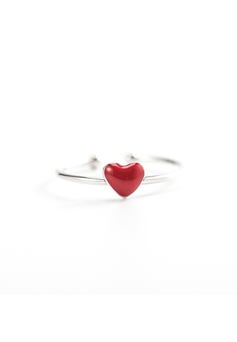 A-Excellence silver Premium S925 Sliver Heart Ring 3AF56AC98D080BGS_1