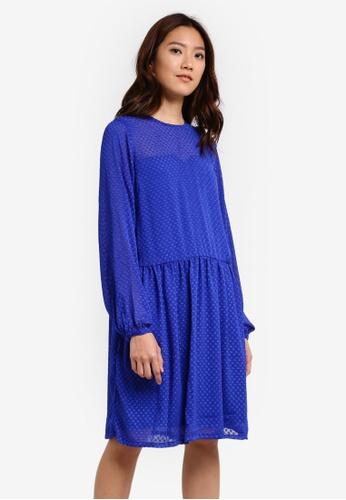Y.A.S blue YASTONE LS DRESS YA631AA0RRJ3MY_1