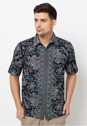 ASANA Kalimantan Short Sleeves Black