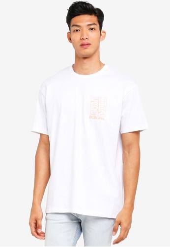 Topman white White Oversized T-Shirt 58E0AAA66BF928GS_1
