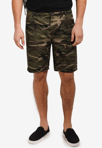 Flesh IMP green Bauer Line Shorts EEE01AA7A2FA27GS_1