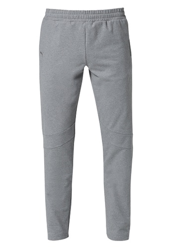 Porsche Design PUMA x Porsche Design Men's Grey Sweatpants T7 Sweat Pants for Men B0B58AA6C19F91GS_1