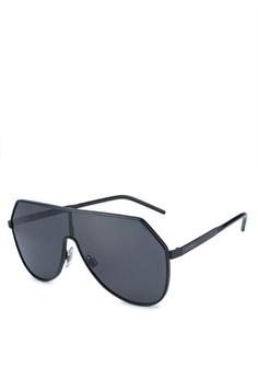 2d5463d6790 Dolce   Gabbana black Dolce   Gabbana DG2221 Sunglasses 9303BGL4F922E0GS 1