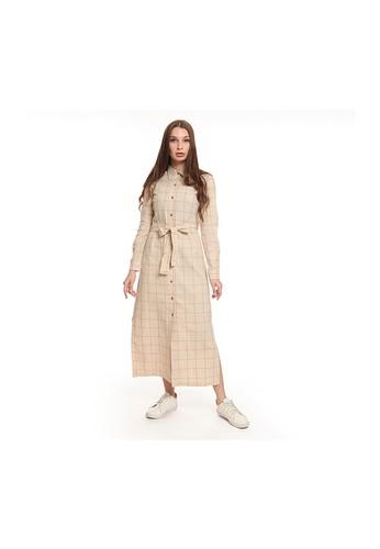 Juice Ematic brown Juice Ematic Dress panjang wanita Coklat KAANA MAXY DRESS 1D127AA49E95F9GS_1