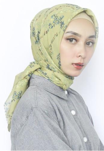 INA PRIYONO green KAYLA Army Hijab by Ina Priyono F66E3AAACB1956GS_1