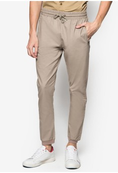 Washed Cotton Joggers