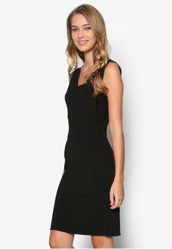 深V 低胸連身裙, 服飾, Minimalist Andesprit暢貨中心 Polished
