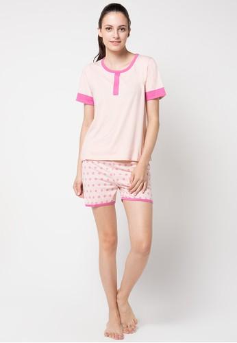 PUPPY pink Aminat Sleepwear PU643AA16JKXID_1